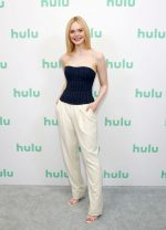 Elle Fanning In  Ralph Lauren  @  Hulu Panel at Winter TCA in Pasadena