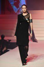 Gigi Hadid Walks  @ Jean-Paul Gualtier Haute Couture Show At Paris Fashion Week