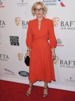 Gillian Anderson Attends  BAFTA Los Angeles Tea Party