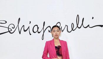jaime-xie-in-hot-pink-suit-schiaparelli-haute-couture-spring-summer-2020
