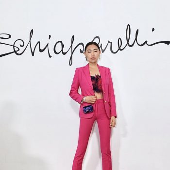 jaime-xie-in-hot-pink-suit-schiaparelli-haute-couture-spring-summer-2020