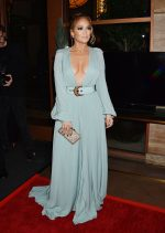 Jennifer Lopez In Elie Saab @  2020 Los Angeles Critics Association Awards
