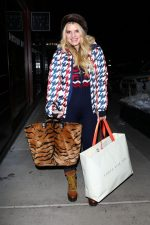 Jessica Simpson In Perfect Moment Jacket @ Shopping in Aspen