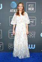 Jodie Comer  In Zuhair Murad @ Critics' Choice Awards 2020
