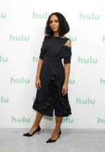 Kerry Washington In Miu Miu @  Hulu Panel at Winter TCA 2020 in Pasadena
