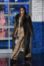Kesha In Burberry @ The Late Show With Stephen Colbert in New York