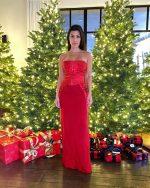 Kourtney Kardashian In Gucci @  Christmas Party 2019