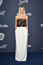 Margot Robbie  Chanel Couture  @ 2020 Warner Bros. and InStyle Golden Globe After Party