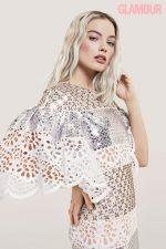 Margot Robbie Covers Glamour Magazine UK January 2020