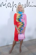 Pixie Lott Attends  Schiaparelli Haute Couture Show at Paris Fashion Week