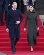 Catherine, Duchess of Cambridge In  Alexander McQueen @ Her Bradford Visit