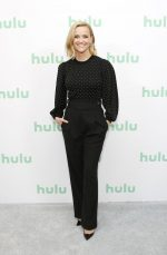 Reese Witherspoon Attends  Hulu Panel at Winter TCA 2020 in Pasadena
