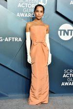 Zoë Kravitz In Oscar de la Renta @  2020 SAG Awards