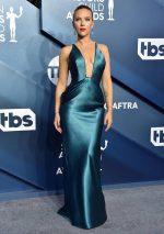 Scarlett Johansson In Armani Prive  @  2020 SAG Awards
