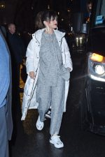 """Selena Gomez In Everlane  Puffer Jacket  Arrives at Her """"Rare"""" Album Release Party in NY"""