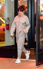 Selena Gomez In TOTÊME  Leaving the Puma Store in New York
