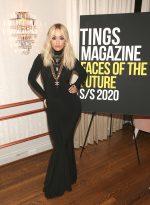 Rita Ora In  Norma Kamali @ Tings Magazine's Private Dinner In Los Angeles