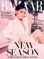 Victoria Beckham Covers Harper's Bazaar February 2020 Issue