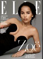 Zoë Kravitz Covers ELLE Magazine US February 2020 Issue