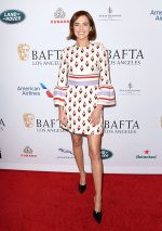 Zoey Deutch In Valentino  @  BAFTA Los Angeles Tea Party