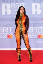 Jorja Smith In Jean Paul Gaultier Haute Couture @ 2020 BRIT Awards