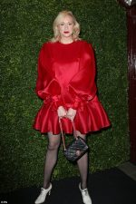 Gwendoline Christie  In Giles Deacon @ 2020 Charles Finch & Chanel Pre-Bafta Party In London