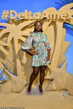 Lupita Nyong'o In  Dolce & Gabbana @  The Delta SkyMiles® American Express Cards Launch