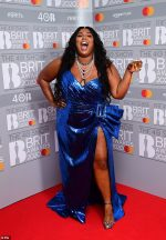 Lizzo In Dundas  @ 2020 The BRIT Awards