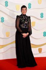 Olivia Colman In Alexander McQueen @ 2020 EE British Academy Film Awards