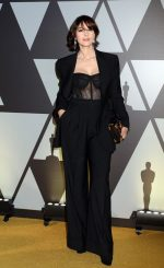 Monica Bellucci  In  Dolce & Gabbana @ Academy Of Motion Picture, Arts And Sciences, And Istituto Luce – Cinecittà Event
