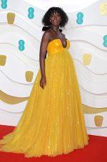 Jodie Turner-Smith In Gucci @ 2020 EE British Academy Film Awards