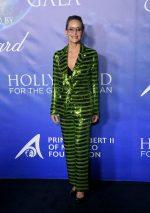 Sharon Stone  In Pertegaz @  2020 Hollywood For The Global Ocean Gala