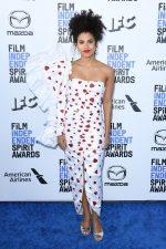 Zazie Beetz In Rodarte @  2020 Film Independent Spirit Awards