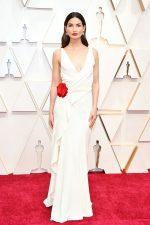 Lily Aldridge  In Ralph Lauren  @ 2020 Oscars