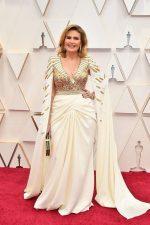 Yousra  In Zuhair Murad  Couture @ 2020 Oscars