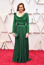 Sigourney Weaver  In Christian Dior Haute Couture @ 2020 Oscars