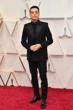 Rami Malek  In Saint Laurent by Anthony Vaccarello  @ 2020 Oscars