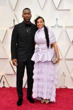 Mahershala Ali &  Amatus Sami-Karim @ 2020 Oscars