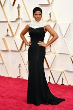 Tamron Hall In THEIA Gown @  2020 Oscars