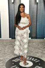 Gabrielle Union In Giambattista Valli  @  2020  Vanity Fair Oscar Party