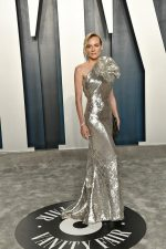 Diane Kruger  In Elie Saab  Couture @  2020 Vanity Fair Oscar Party
