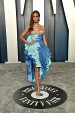 Joan Smalls In Schiaparelli  Couture @ 2020 Vanity Fair Oscar Party