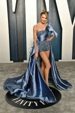 Candice Swanepoel  In Zuhair Murad  Couture @  2020 Vanity Fair Oscar Party.