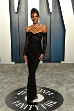 Jasmine Tookes  In Georges Hobeika  @  2020 Vanity Fair Oscar Party