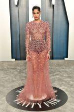 Sofia Boutella In Valentino @  2020 Vanity Fair Oscar Party