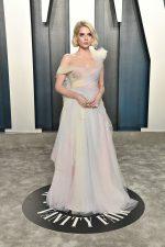 Lucy Boynton In  Miu Miu @  2020 Vanity Fair Oscar Party