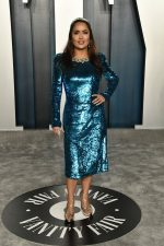 Salma Hayek In Gucci @  2020 Vanity Fair Oscar Party