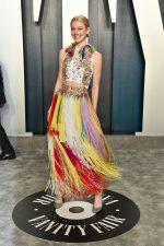 Hunter Schafer  In Givenchy @  2020 Vanity Fair Oscar Party