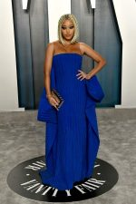 Amandla Stenberg  In Balmain @ 2020 Vanity Fair Oscar Party