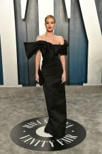 Rosie Huntington-Whiteley  In Saint Laurent @ 2020 Vanity Fair Oscar Party